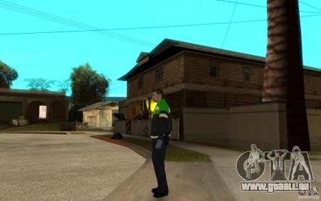 Ambulancier paramédic russe pour GTA San Andreas deuxième écran