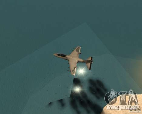 Cluster Bomber für GTA San Andreas her Screenshot
