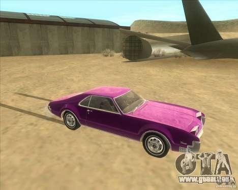 1966 Oldsmobile Toronado pour GTA San Andreas laissé vue