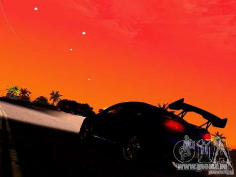 Mitsubishi Lancer EVO X Juiced2 HIN pour GTA San Andreas vue de côté