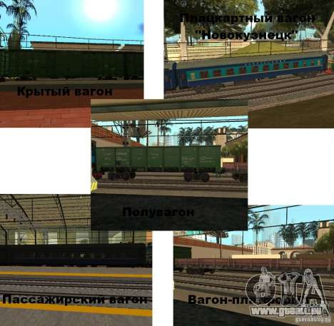 Modification de chemin de fer III pour GTA San Andreas deuxième écran