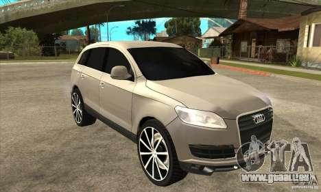 Audi Q7 v2.0 für GTA San Andreas Rückansicht