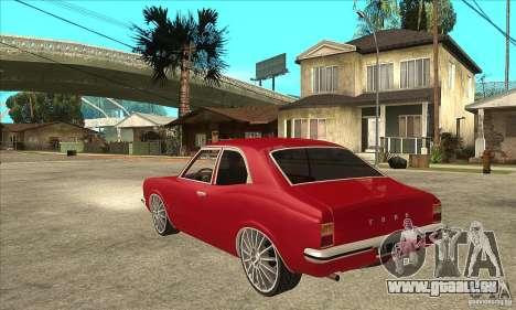 Ford Taunus Coupe pour GTA San Andreas sur la vue arrière gauche