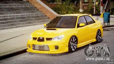 Subaru Impreza STI pour GTA 4