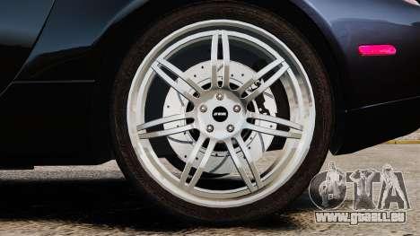 BMW Z8 2000 für GTA 4 Rückansicht