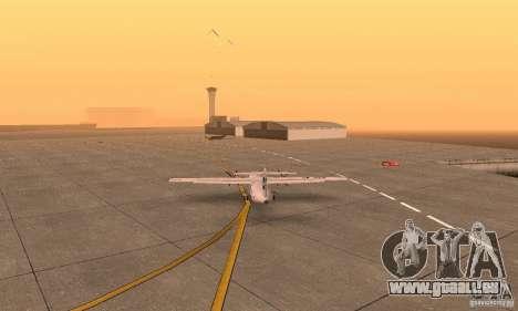 ATR 72-500 UTair für GTA San Andreas linke Ansicht