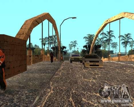 New Ghetto pour GTA San Andreas quatrième écran