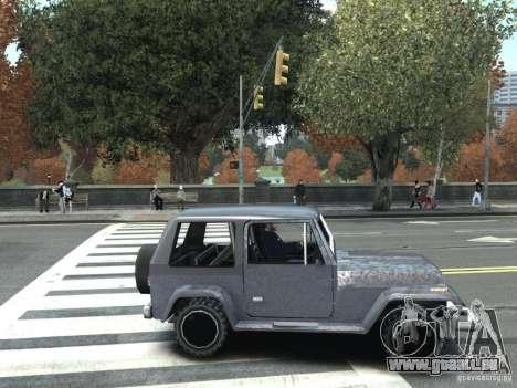 Mesa dans GTA San Andreas pour GTA IV pour GTA 4 Vue arrière de la gauche