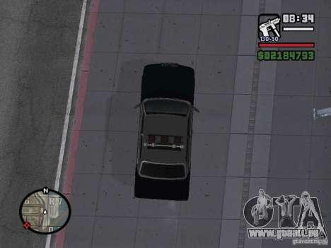 Admiral SFPD pour GTA San Andreas sur la vue arrière gauche