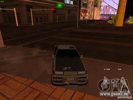 New Racing Style Fortune für GTA San Andreas rechten Ansicht