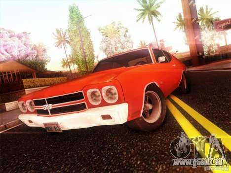 Chevy Chevelle SS 1970 pour GTA San Andreas