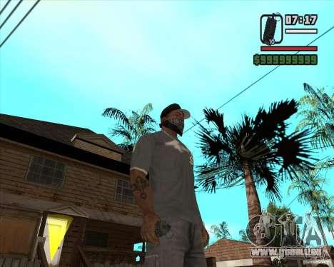 Grenade de Xenus 2 pour GTA San Andreas
