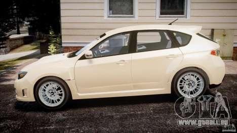 Subaru Impreza WRX STi 2009 für GTA 4 linke Ansicht