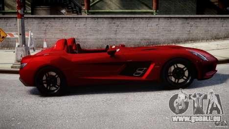 Mercedes-Benz SLR McLaren Stirling Moss [EPM] pour GTA 4 est une vue de l'intérieur