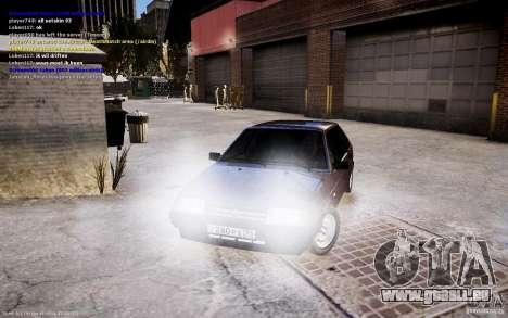 VAZ 2108 pour GTA 4 est un droit