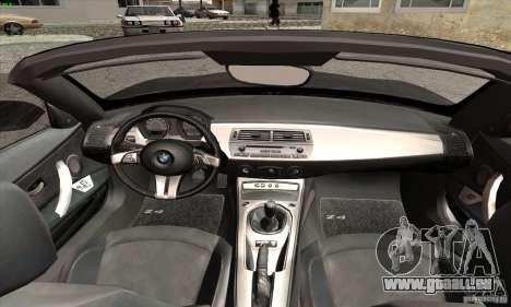BMW Z4 pour GTA San Andreas vue de droite