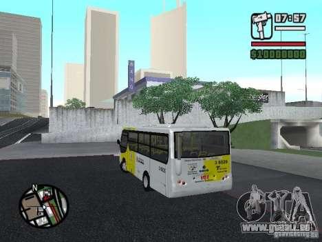 Induscar Caio Piccolo pour GTA San Andreas laissé vue