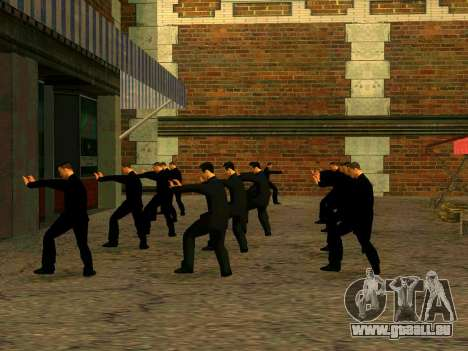 Vusi d'entraînement pour GTA San Andreas quatrième écran