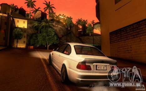 BMW M3 E46 für GTA San Andreas rechten Ansicht