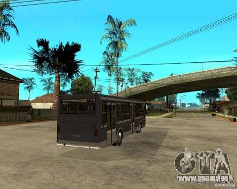LIAZ 5256.25 Neugestaltung für GTA San Andreas zurück linke Ansicht
