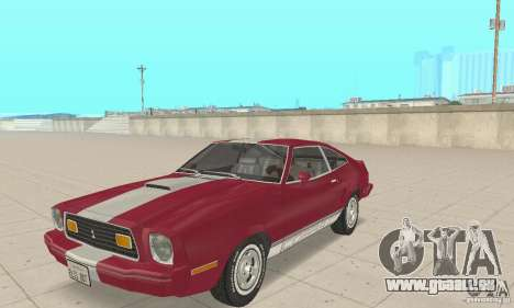 Ford Mustang II 1976 Cobra v. 1.01 pour GTA San Andreas