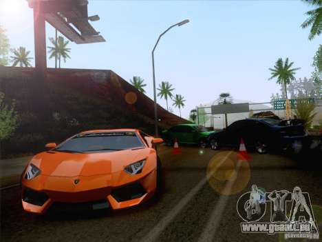 Unfall auf der Straße für GTA San Andreas zweiten Screenshot