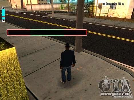 Eine neue Schnittstelle für SAMP für GTA San Andreas her Screenshot