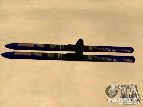 Ski-Skifahren für GTA San Andreas linke Ansicht