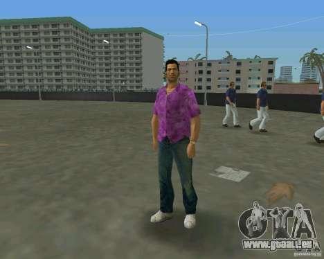 Tommy in HD + neues Modell für GTA Vice City sechsten Screenshot