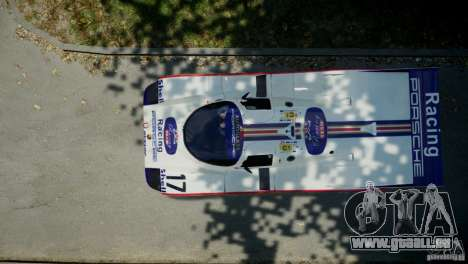 Porsche 962 pour GTA 4 est un droit