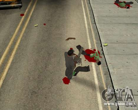 Real Ragdoll Mod Update 02.11.11 pour GTA San Andreas