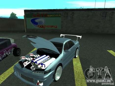 Toyota Carina ED  DRFT pour GTA San Andreas sur la vue arrière gauche