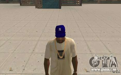 GAP Newyorkyankiys lila für GTA San Andreas zweiten Screenshot