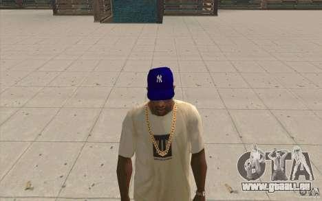 GAP Newyorkyankiys lila für GTA San Andreas zweiten Screenshot