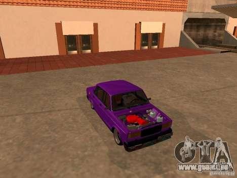 VAZ 2107 JDM für GTA San Andreas Seitenansicht