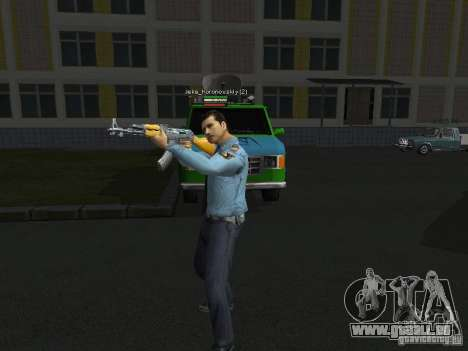 Peaux de milice pour GTA San Andreas