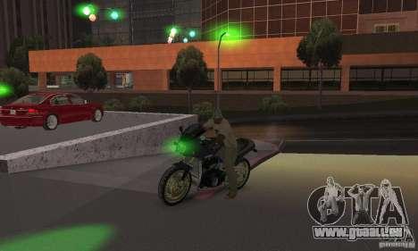 Feux verts pour GTA San Andreas quatrième écran