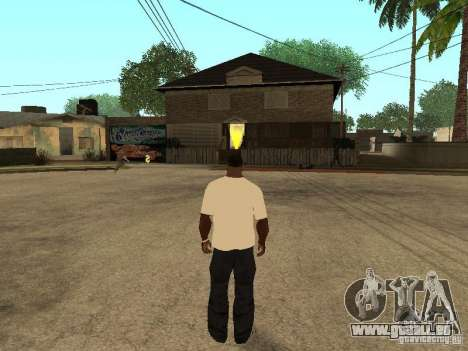 T Shirt Red Bull für GTA San Andreas her Screenshot