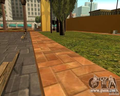 Die neue Central Park von Los Santos für GTA San Andreas dritten Screenshot