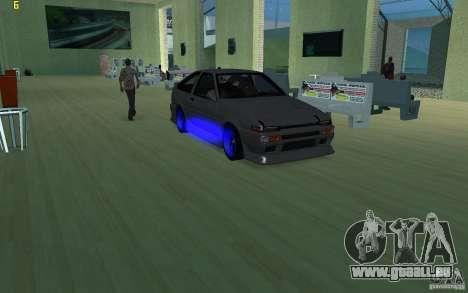 Toyota Corolla 2010 pour GTA San Andreas