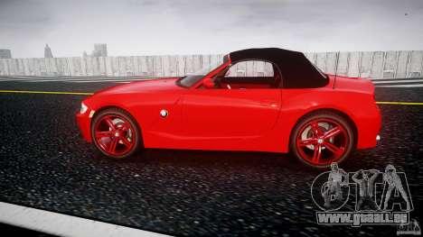 BMW Z4 Roadster 2007 i3.0 Final pour GTA 4 est une gauche