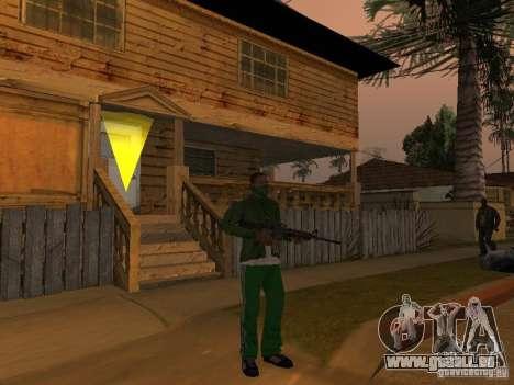 Armes de CLEO pour GTA San Andreas deuxième écran