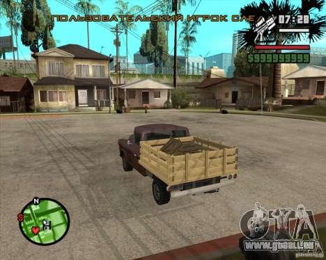 Walton HD pour GTA San Andreas laissé vue