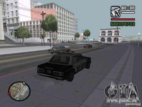 Admiral SFPD pour GTA San Andreas laissé vue