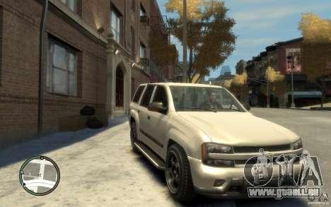 Chevrolet TrailBlazer v.1 für GTA 4 Rückansicht