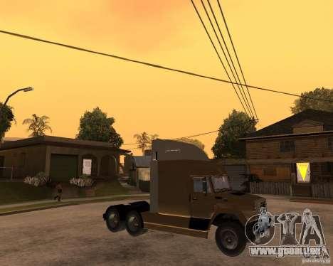 SuperZiL v. 2.0 pour GTA San Andreas vue de droite