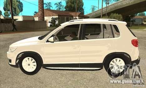 Volkswagen Tiguan 2.0 TDI 2012 pour GTA San Andreas laissé vue