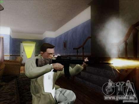M16A4 pour GTA San Andreas troisième écran