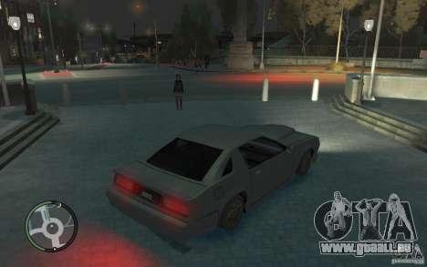 Buffalo IV für GTA 4 hinten links Ansicht
