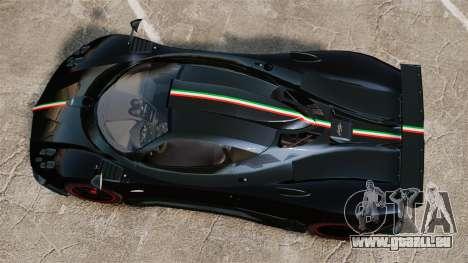 Pagani Zonda Cinque 2009 für GTA 4 rechte Ansicht